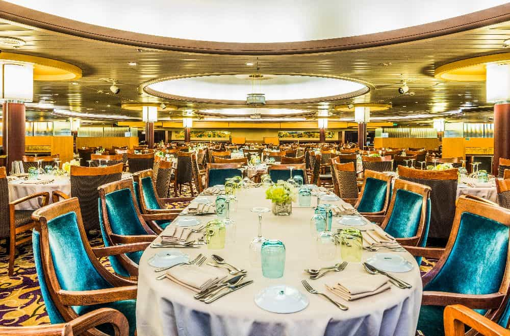 restaurante do pullmantur monarch