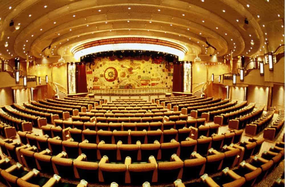 teatro do Enchantment of the seas