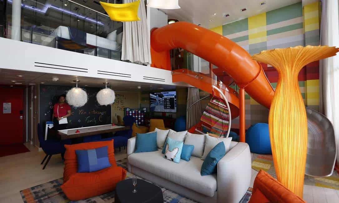 suíte do Spectrum of the Seas