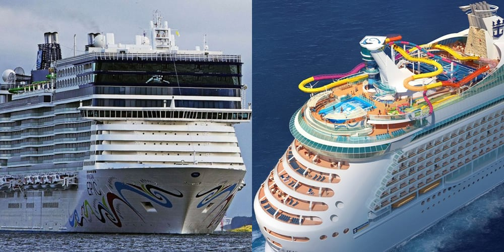 royal caribbean ou norwegian