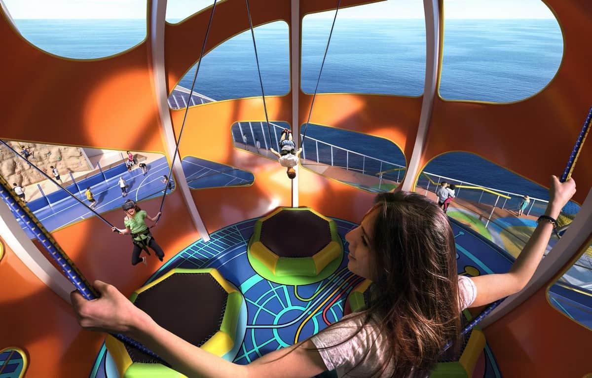 entretenimento nos Navios Royal Caribbean