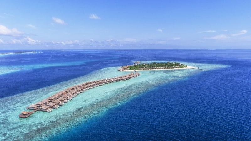 melhores resorts nas maldivas