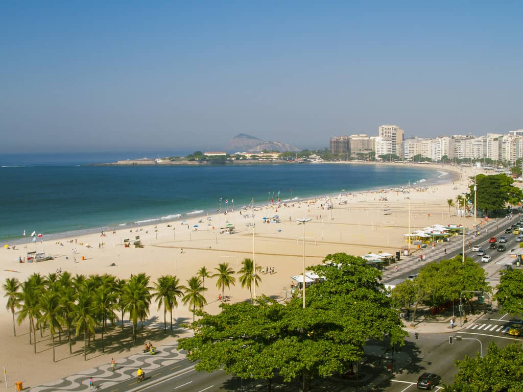 Melhores Hotéis de Copacabana